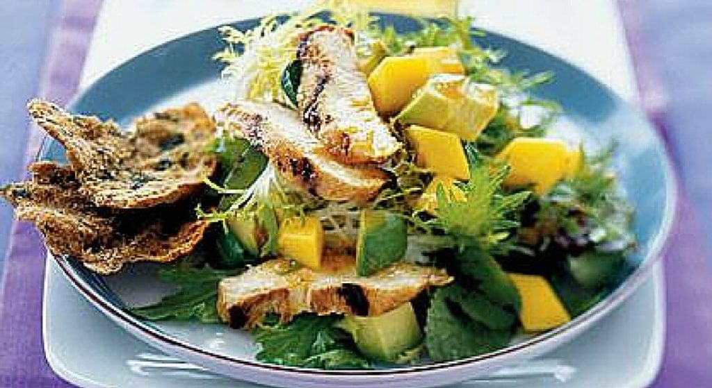 Mixed Green Salad with Grilled Chicken