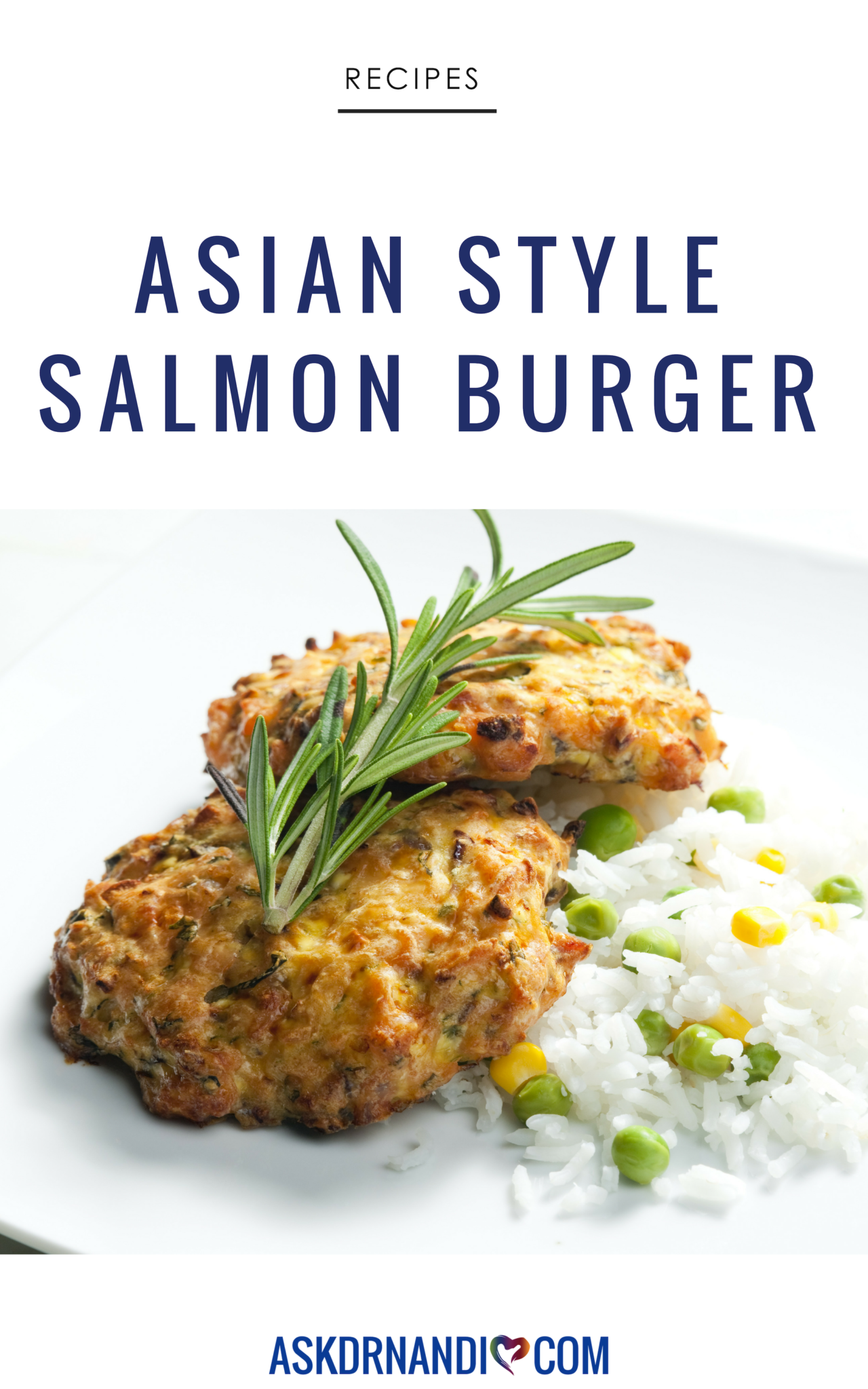 Swap your beef burger for Dr. Nandi\'s hearty Sesame Seed-Crusted Salmon Burger recipe!