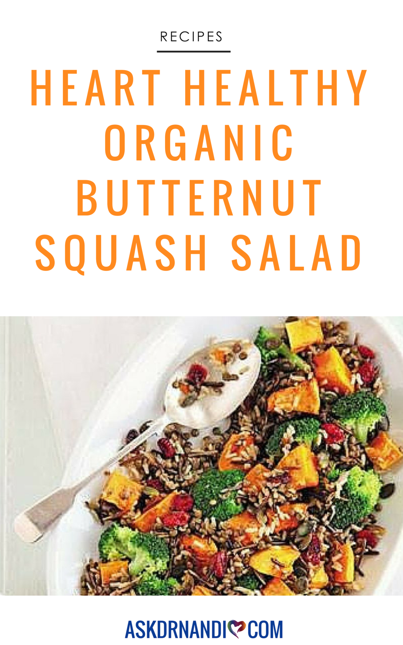 Dr. Nandi shares this healthy and filling Organic Butternut Squash Salad recipe