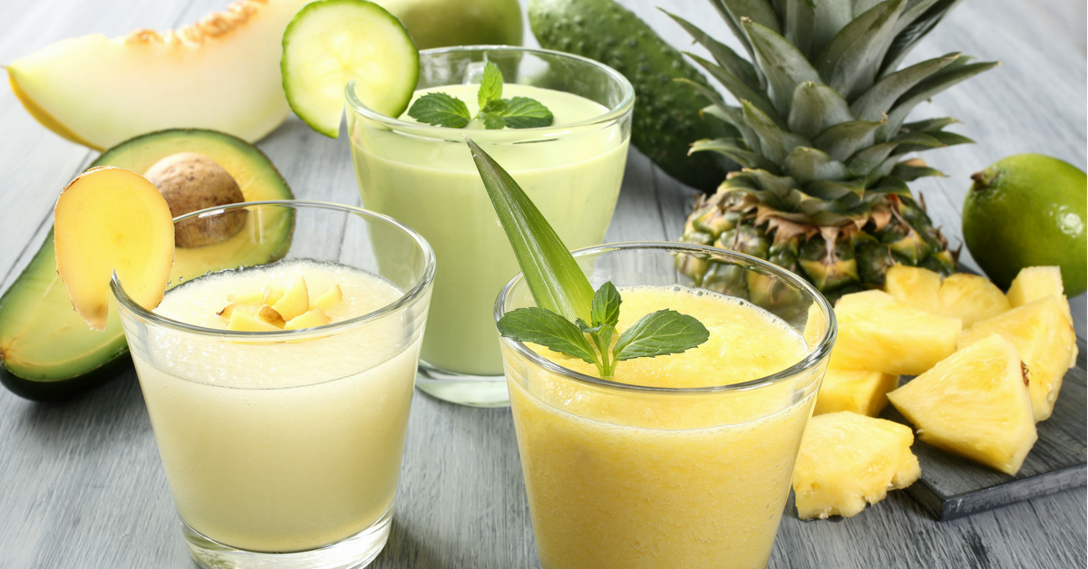 Pinapple Avocado Smoothie