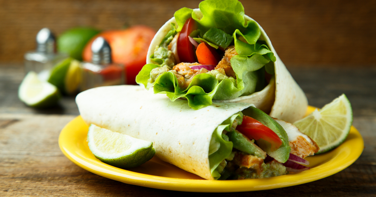 Chicken Watercress Wrap