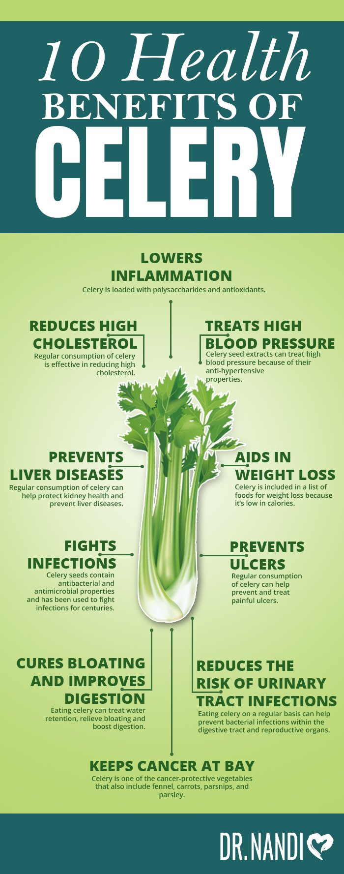10 Health Benefits of Celery
