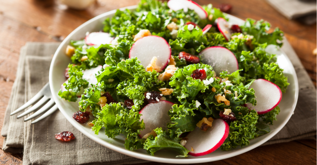 Kale & Cranberry Salad