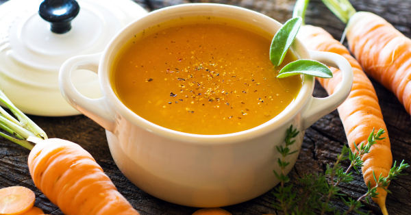 Cumin Carrot Soup