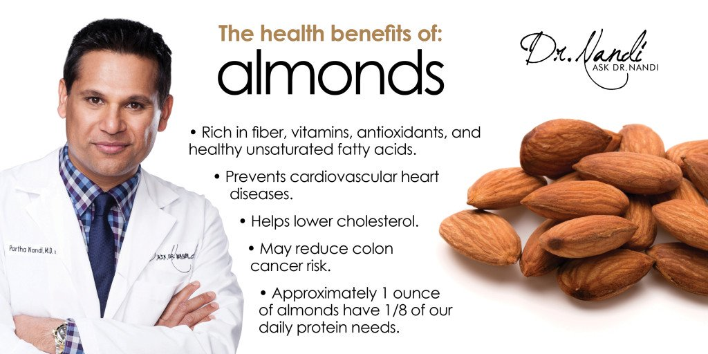 Dr. Nandi on Almonds