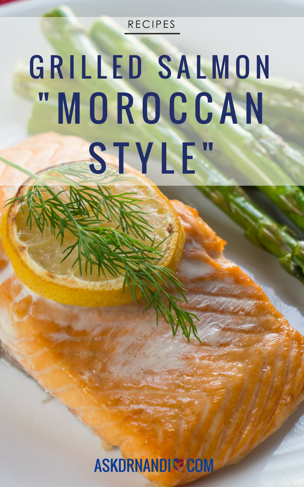 Try This Salmon Recipe by Dr. Nandi! The \