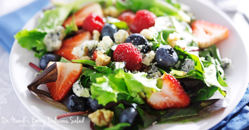 Dr. Nandi's Berry Salad