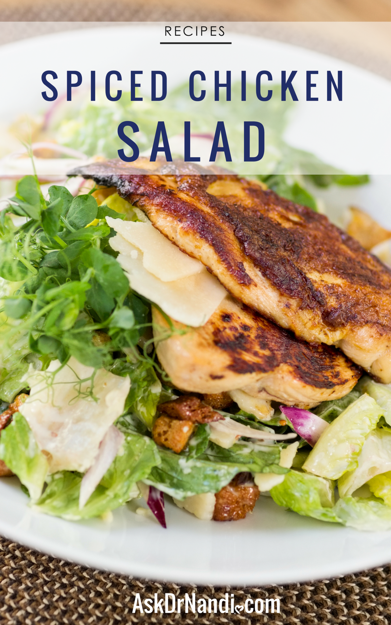 This Chicken Salad by Dr. Nandi Is A Must For Your Culinary Arsenal!