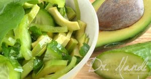 Dr. Nandi's Taste of the Tropics Cucumber Salad