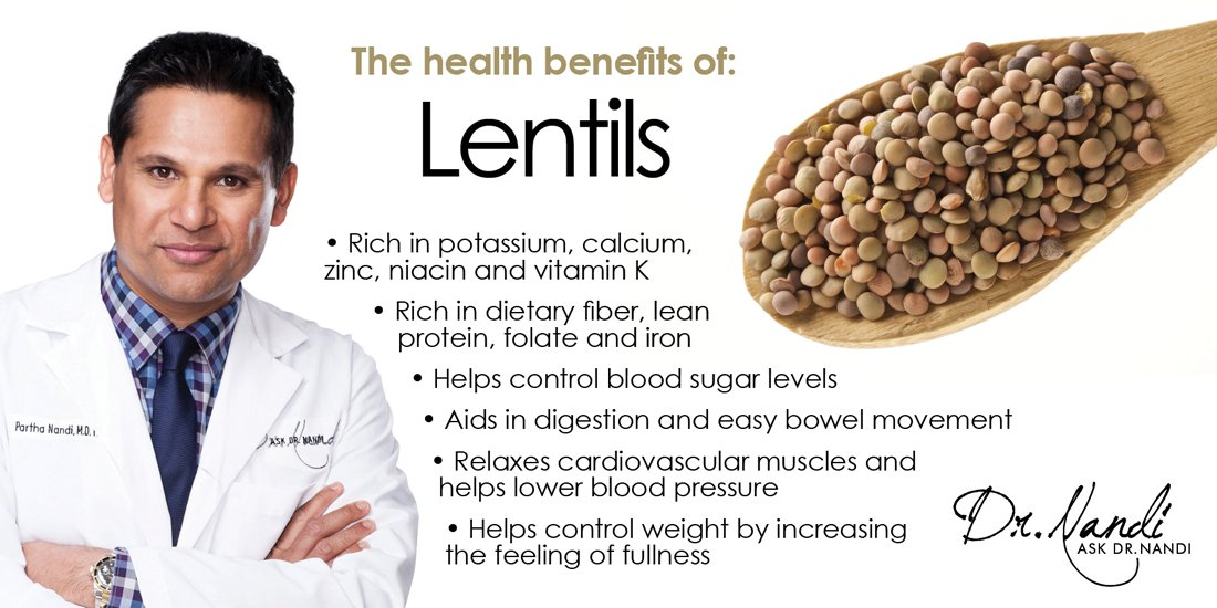 Dr. Nandi on the Benefits of Lentils