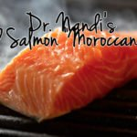 Grilled Salmon Moroccan Style