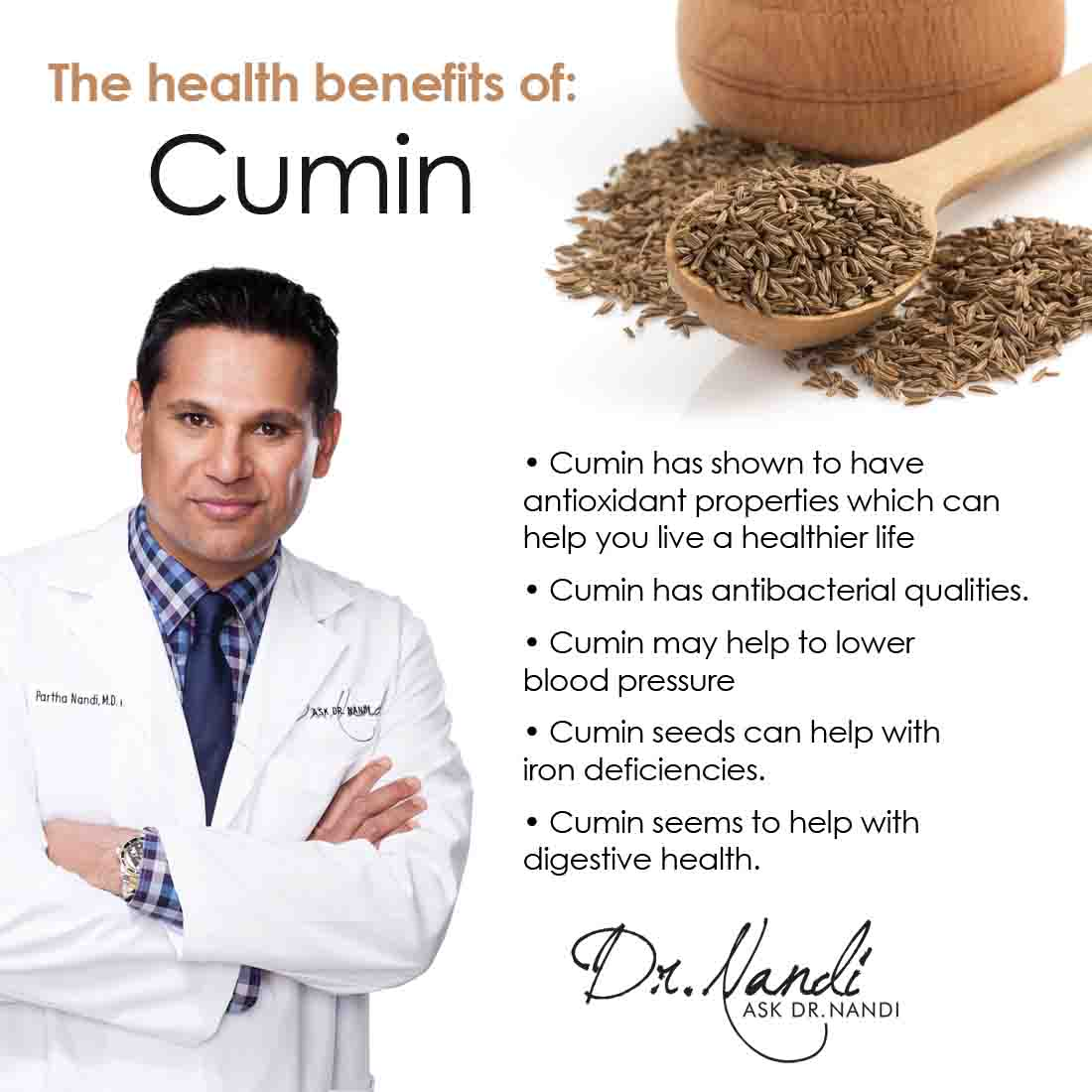 Dr Nandi Health Benefits of Cumin