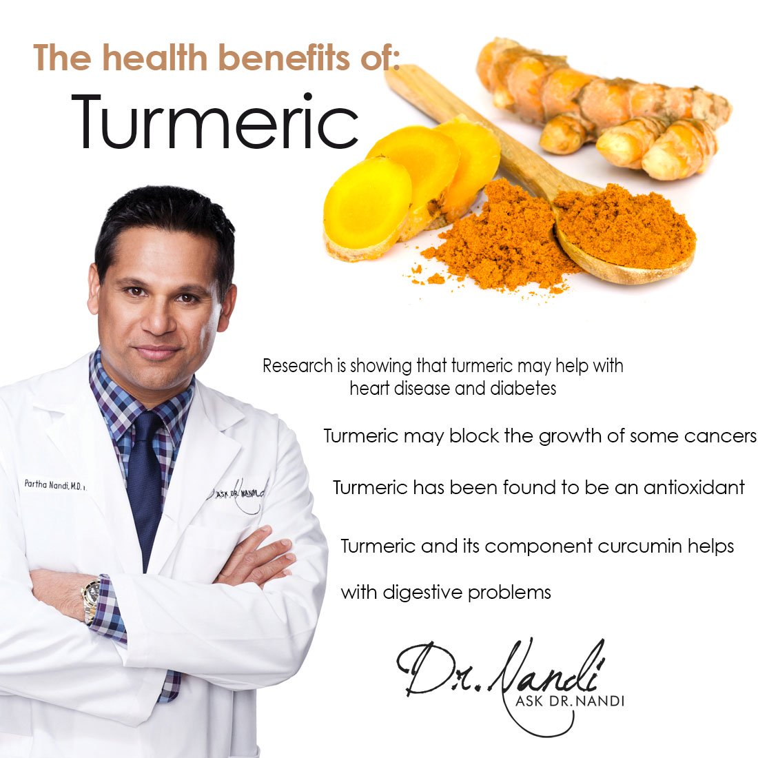 Dr. Nandi on Turmeric