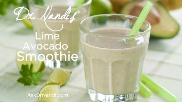 Lime Avocado Smoothie