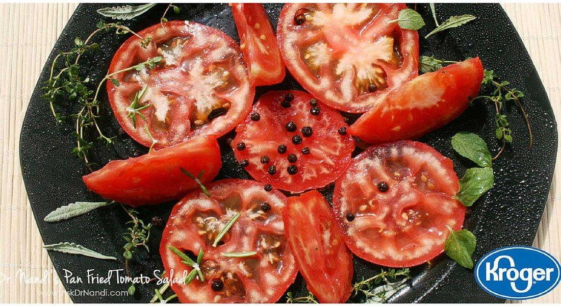 Pan Fried Tomatoes