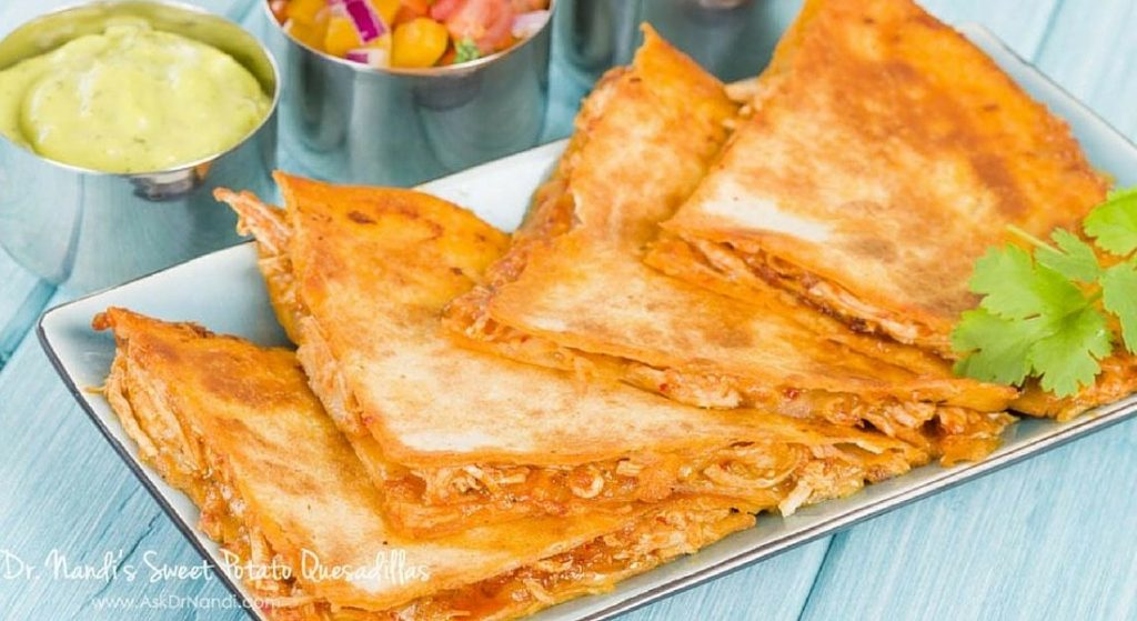 Sweet Potato Quesadilla