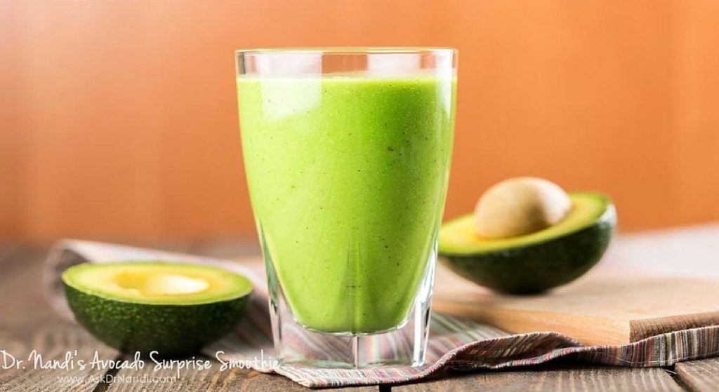Healthy Avocado Smoothie
