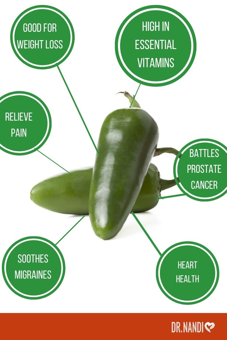 Benefits of Jalapeño