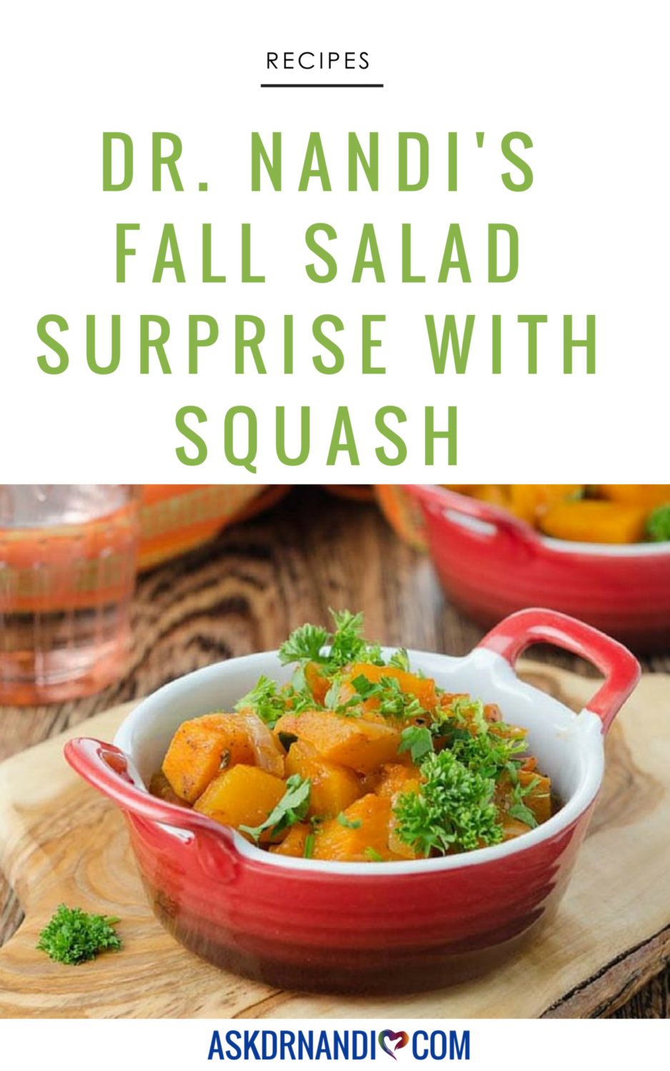 Dr. Nandi's Fall Salad Surprise