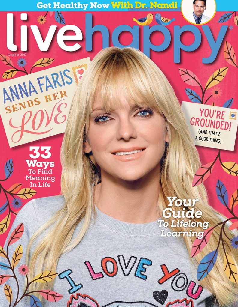 Get Healthy Now LiveHappy Magazine with Dr. Nandi Article