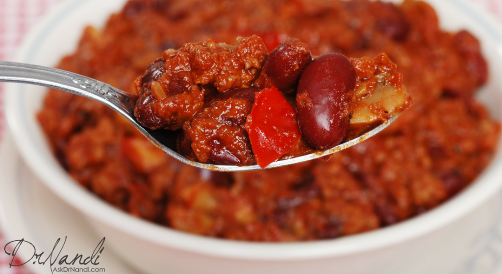 Dr. Nandi's Turkey Chilli