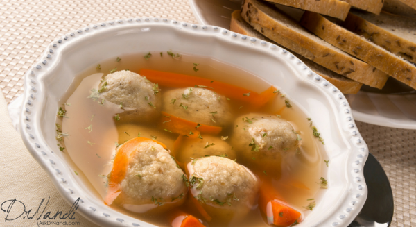 Dr. Nandi's Jewish Chicken Soup