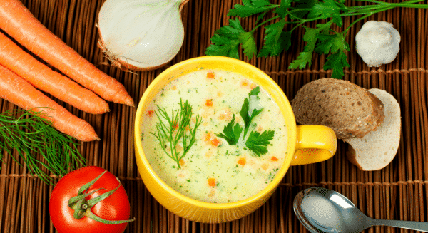 Healthy Cream Of Chicken Soup