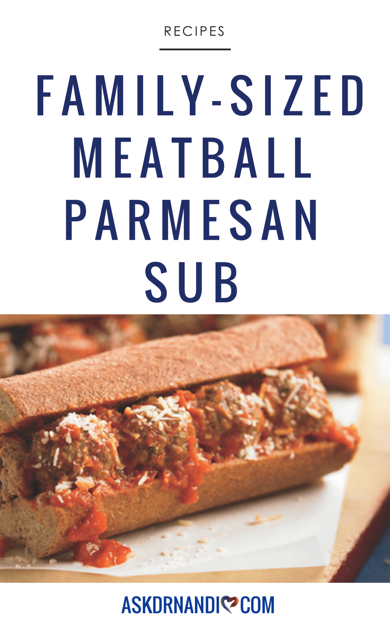 Meatball Lovers' Must-Have Family-Sized Meatball Parmesan Sub