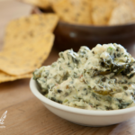 Healthy Artichoke and Kale Dip