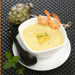 Healthy Artichoke and Shrimp Soup