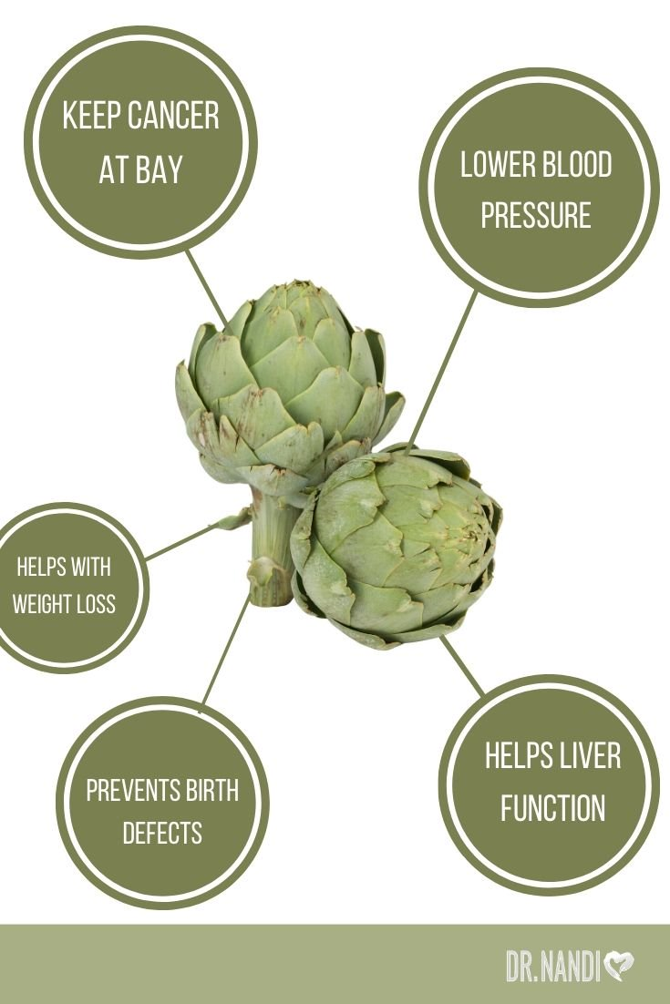 11 Insane Health Benefits of Artichokes