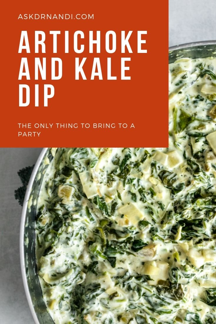 Artichoke and Kale Dip
