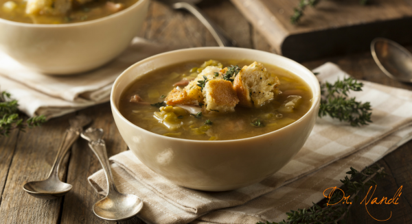 Healthy Vegan Split Pea Soup
