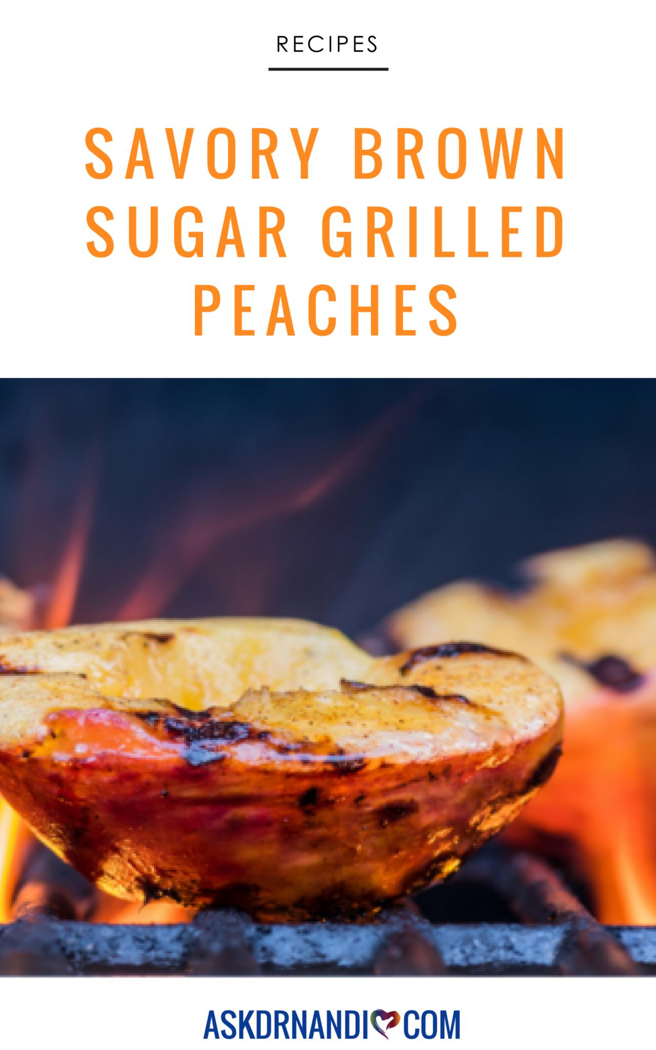 Brown Sugar Grilled Peaches
