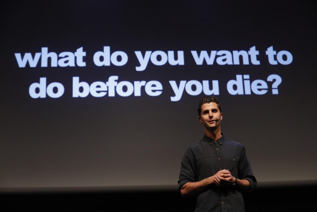 What do you want to do before you die? Article by Ben Nemtin