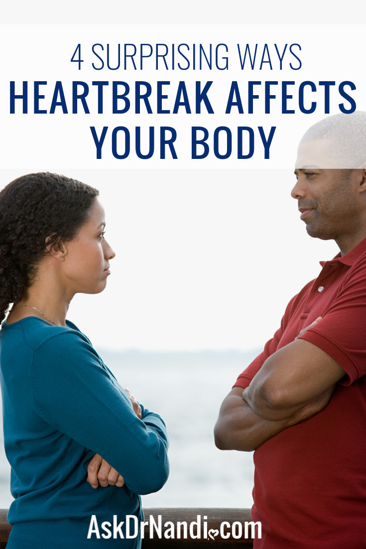4 Surprising Ways Heartbreak Affects Your Body