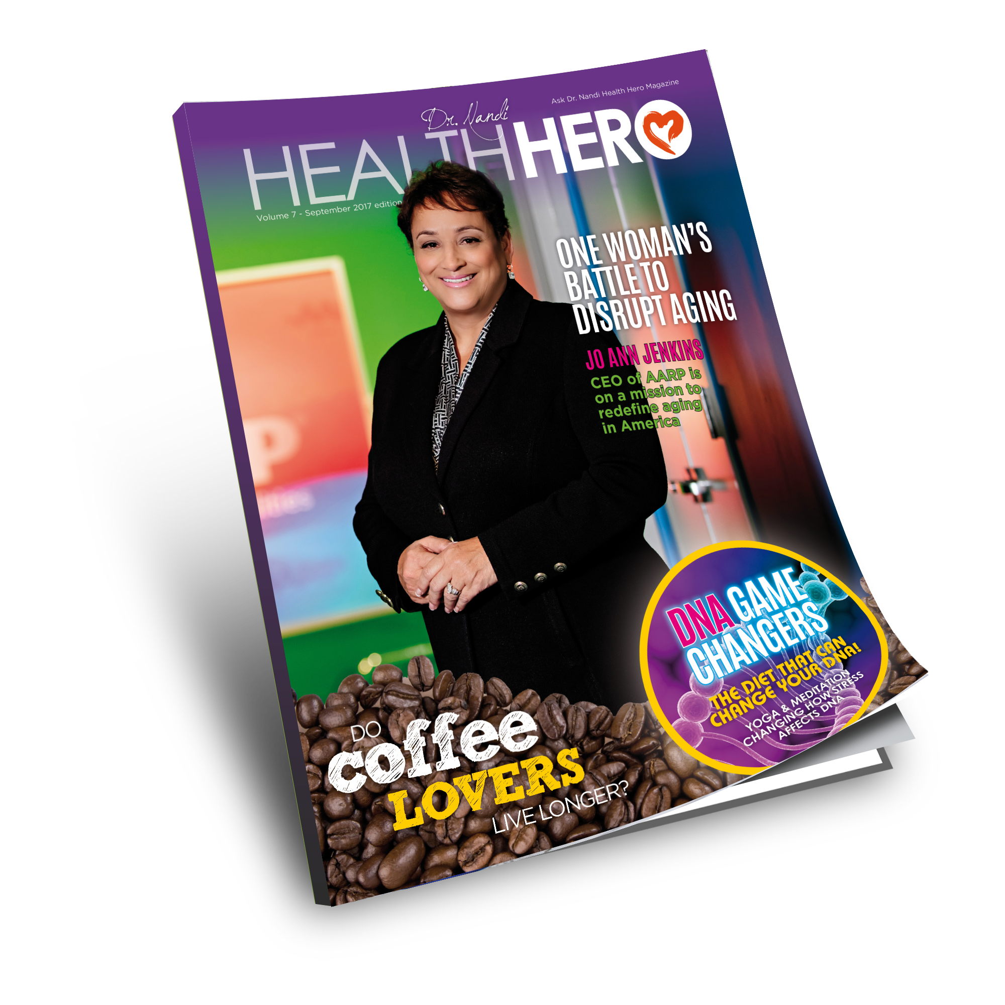 Health Hero Magazine September Feature Jo Ann Jenkins
