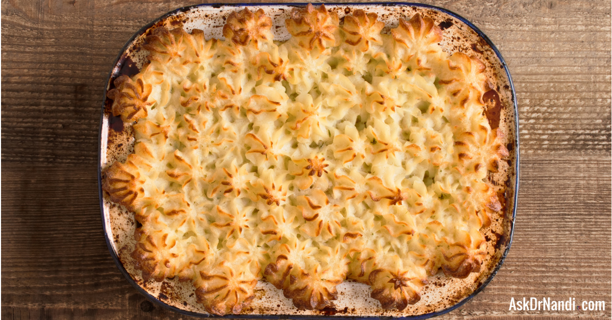 Leeks & Chicken Shepherds Pie