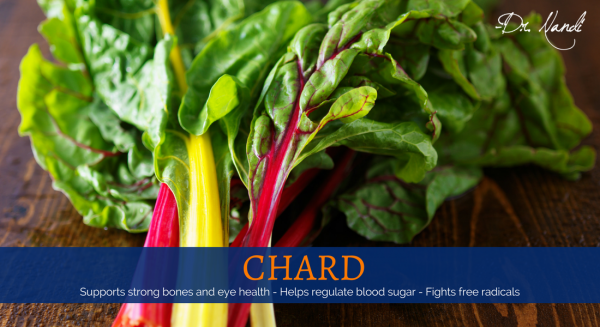 New Health Benefits of Chard