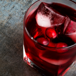 Healthy Holiday Cheer Cranberry Mocktail
