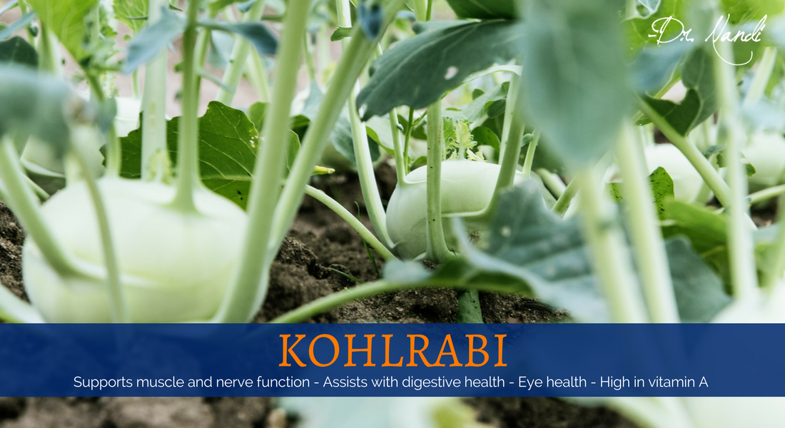 New Health Benefits of Kohlrabi