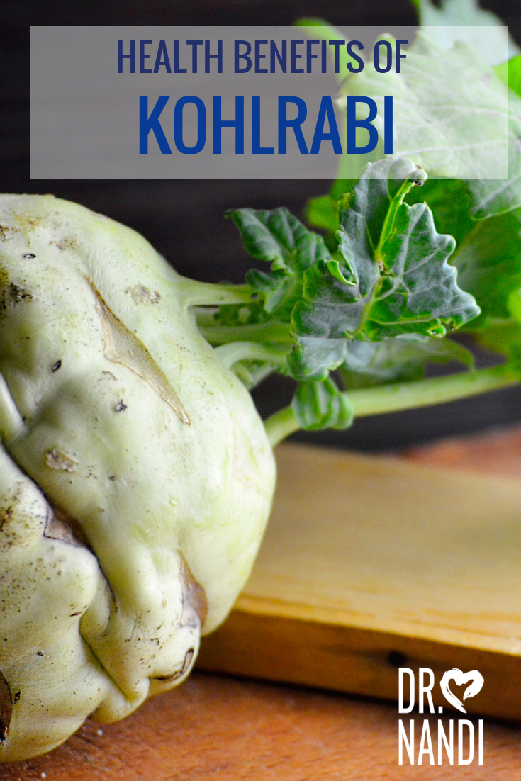 Health Benefits of Kohlrabi