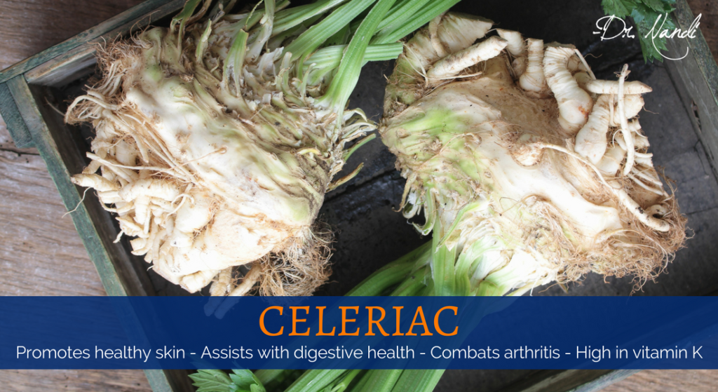 New Health Benefits of Celeriac