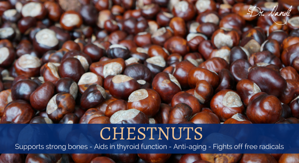 New Health Benefits of Chestnuts