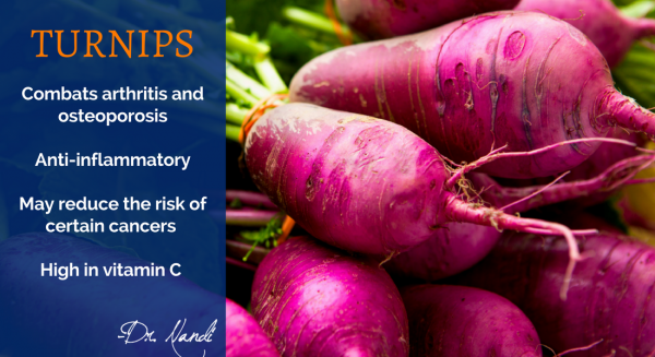 New Health Benefits of Turnips