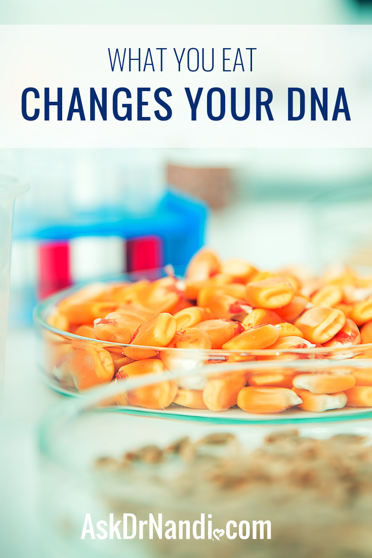 What You Eat Changes Your DNA