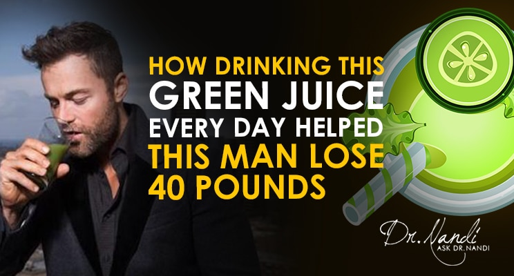 How Drinking this Green Juice EVERY DAY Helped this Man Lose