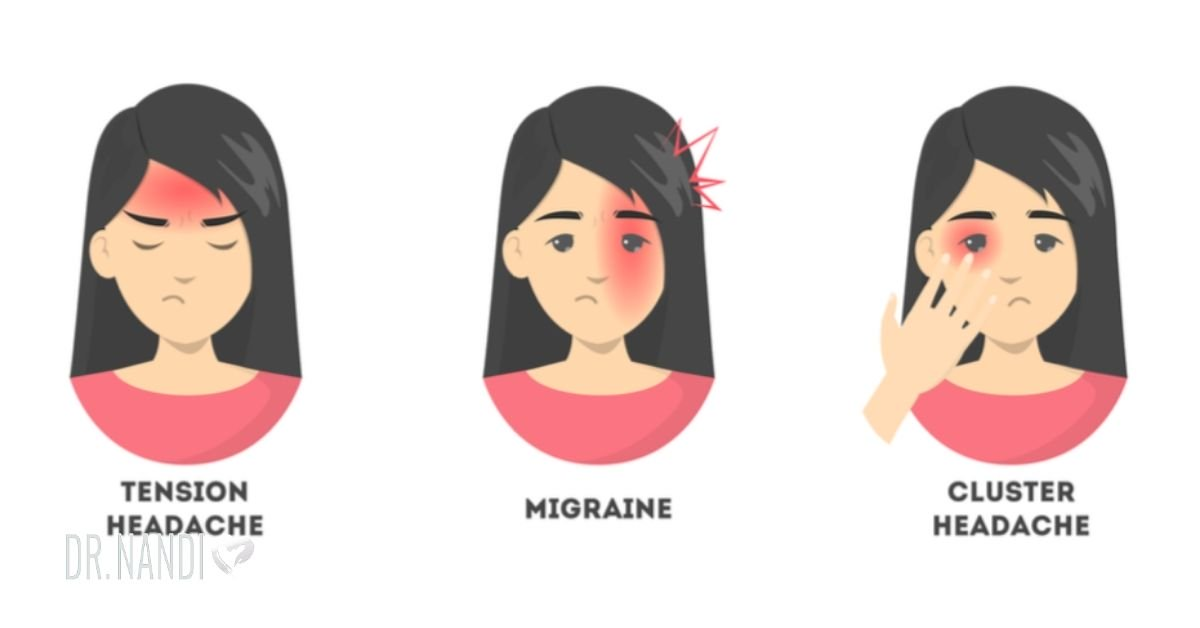 10 Types of Headaches and the Best Way to Get Rid of Them