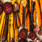 Apple Cider Roasted Vegetables