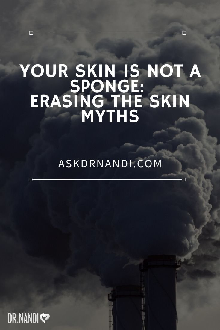 How much does your skin absorb?